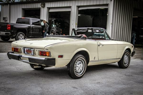 1978 fiat 124 spider owners manual