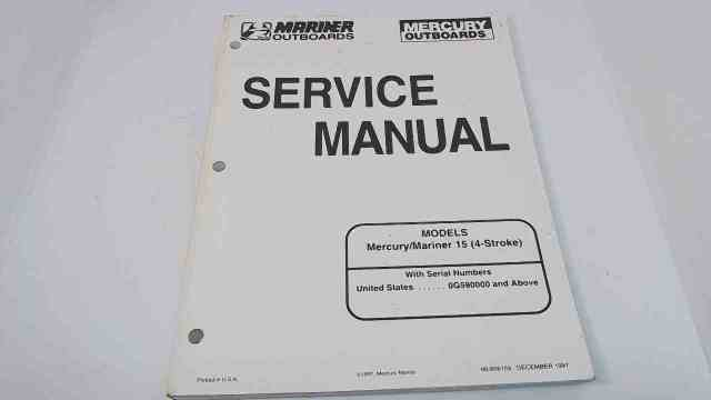 mercury 15 hp 4 stroke service manual