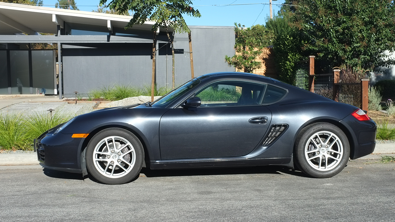 2007 porsche cayman owners manual