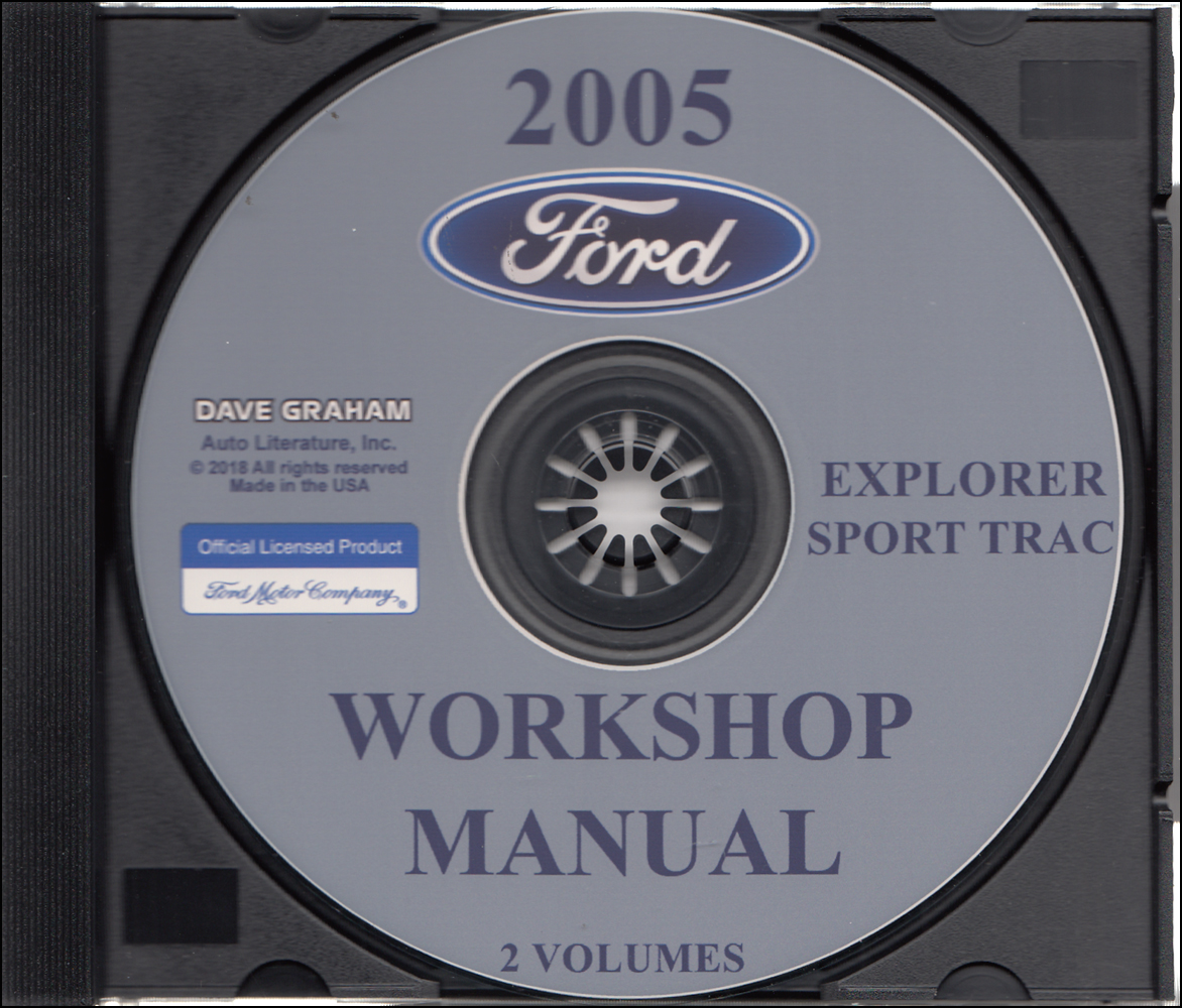 owners manual for 2005 ford explorer sport trac