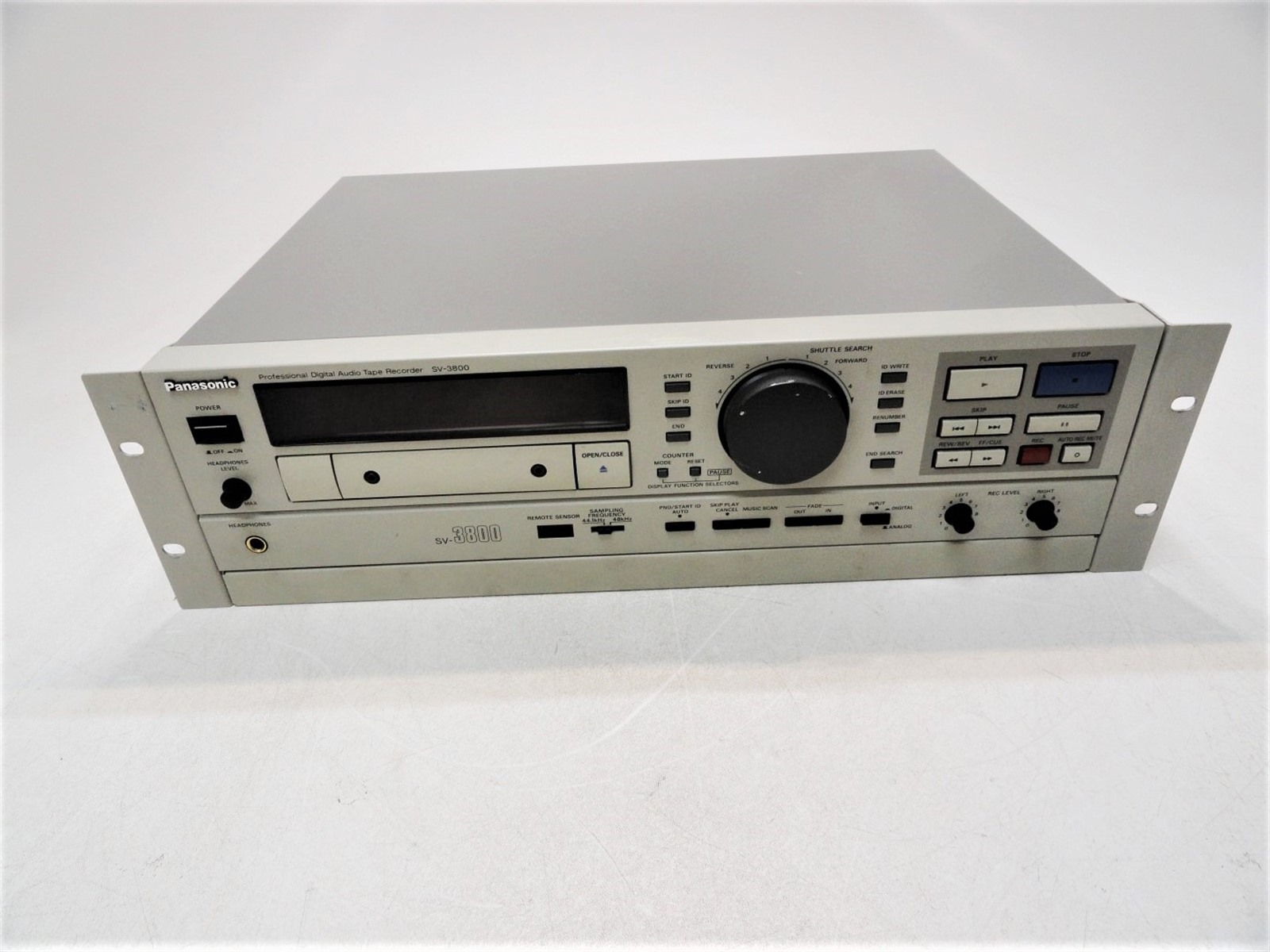 panasonic sv 3800 user manual