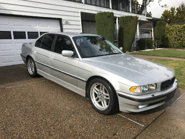 2001 bmw 740i owners manual