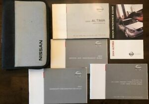 2004 nissan altima owners manual