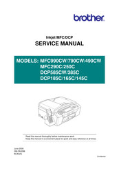 brother mfc 290c service manual