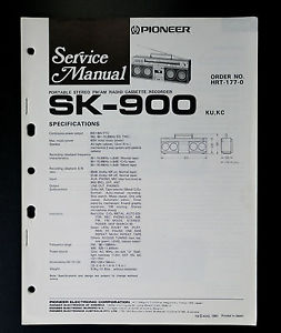 pioneer ct f900 service manual