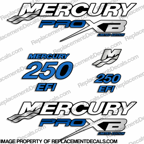 mercury 250 pro xb limited edition service manual