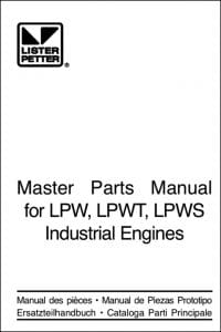 lister petter lpw service manual