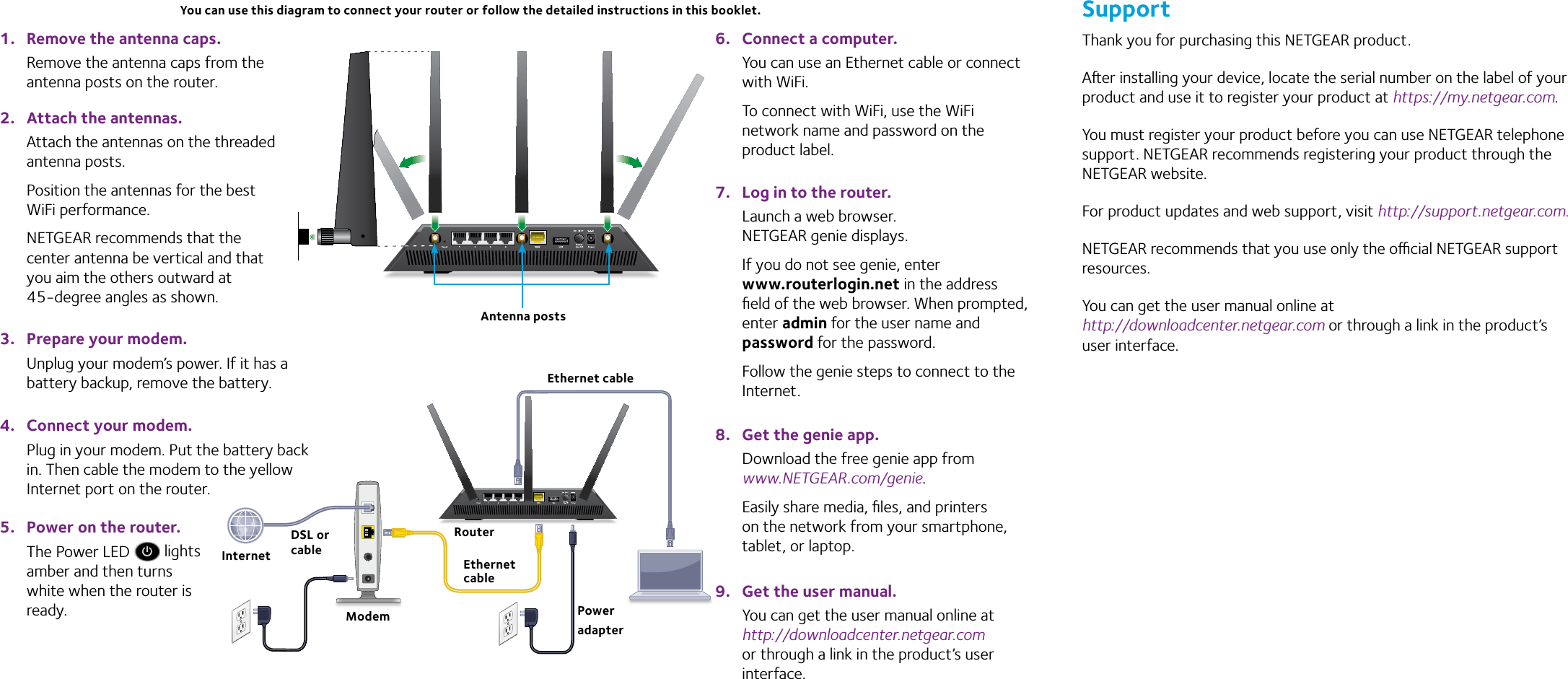 netgear nighthawk r7000 user manual