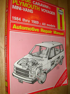 1989 dodge caravan owner manual