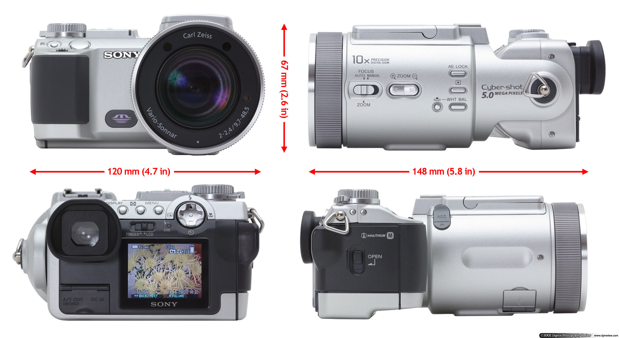 sony dsc f717 user manual