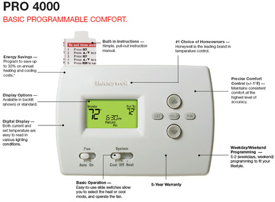 honeywell thermostat ct3200a1001 owners manual