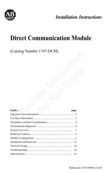 1794 adn devicenet user manual