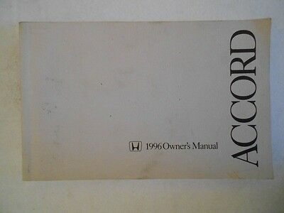 1996 honda accord owners manual online