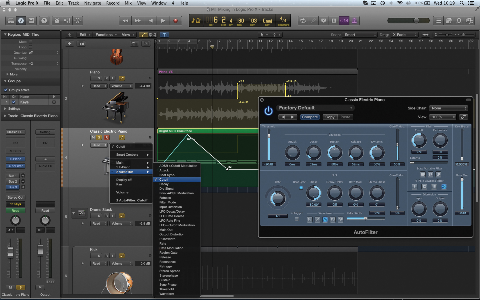 logic pro x user manual