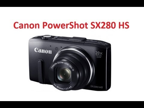 canon sx280 hs user manual
