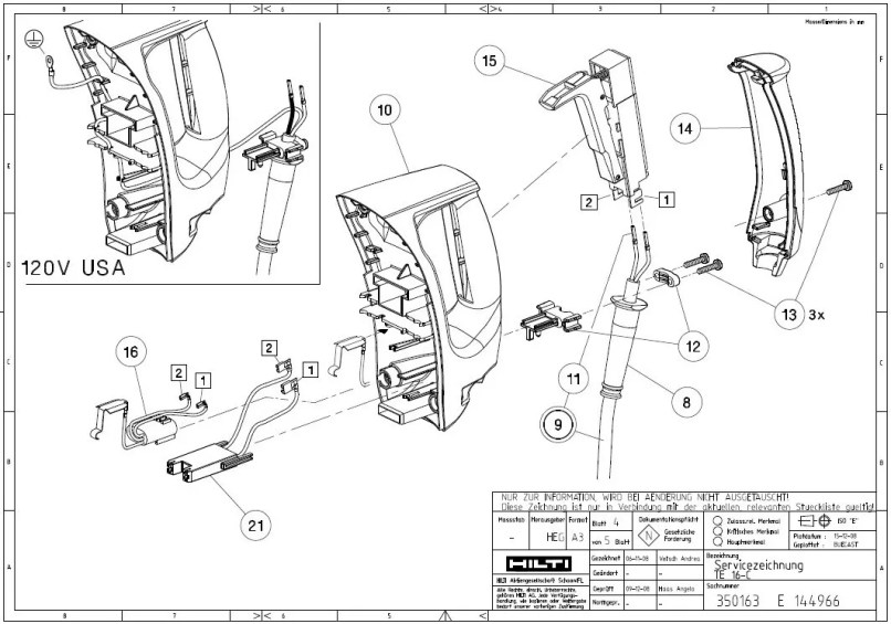 hilti te 72 user manual