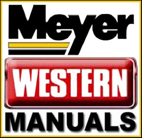 western unimount plow owners manual